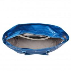 Sac bandoulière de marque Texier bleu striplight fabriquer en France 25602 TEXIER - 3