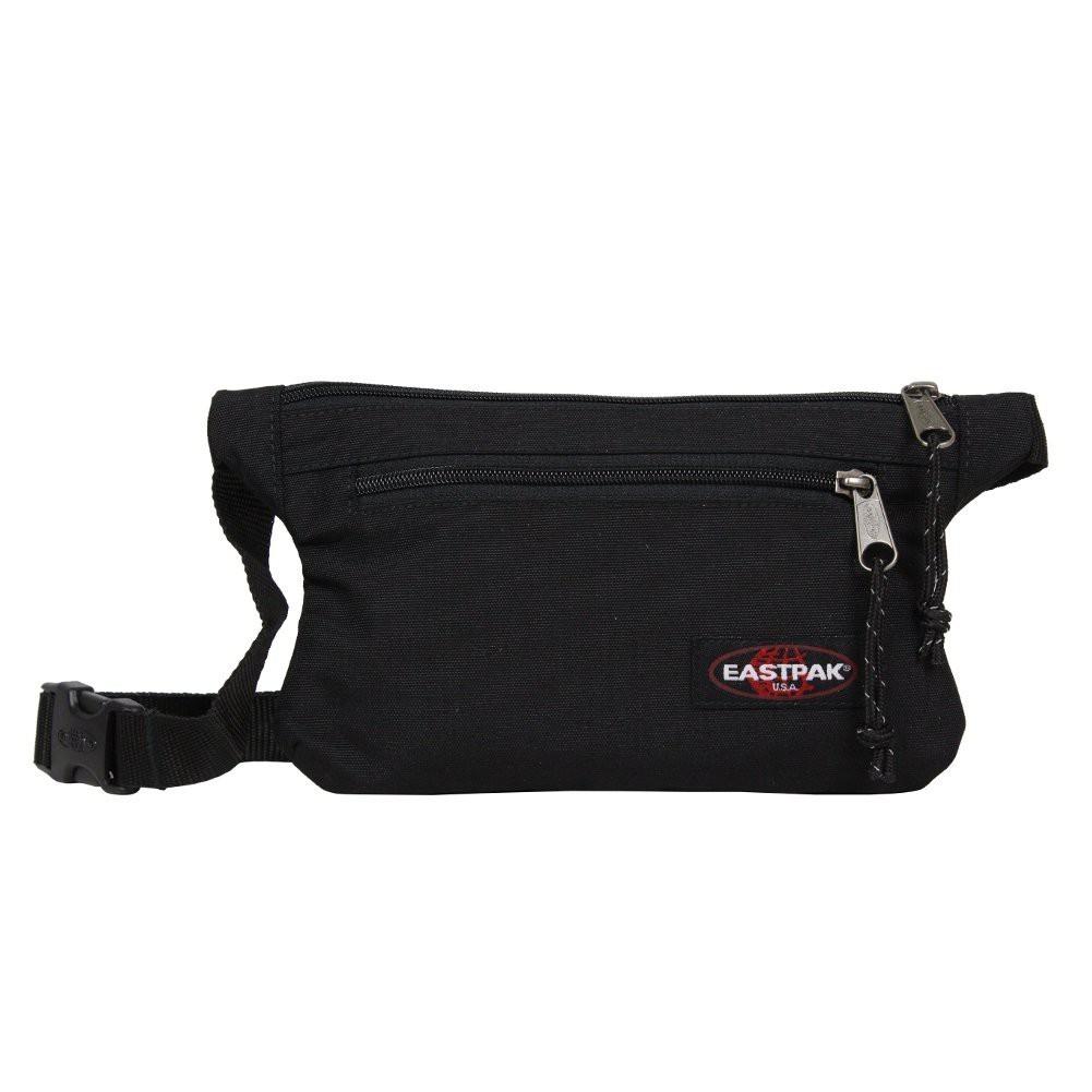 Pochette ceinture banane ultra plate unie Eastpak EK773 Talki 008 Black EASTPAK - 1