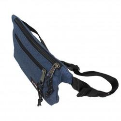 Pochette ceinture banane plate Eastpak EK773 82Double Denim EASTPAK - 2