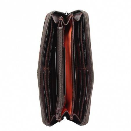Porte monnaie femme Patrick Blanc cuir métallisé B60 PATRICK BLANC - 4