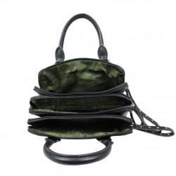 Petit sac à main à zip Le Temps des Cerises Swan 5 LE TEMPS DES CERISES - 4