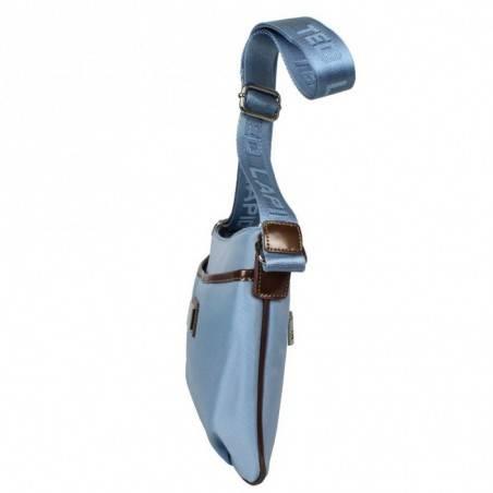 Sac ultra plat porté épaule rectangulaire en hauteur toile Ted Lapidus TL NY4084 TED LAPIDUS - 3