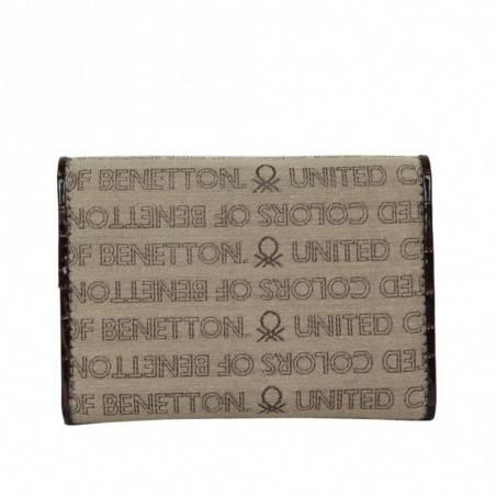 Portefeuille ultra plat Benetton Toile 67680 A DÉCOUVRIR ! - 2