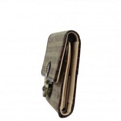 Portefeuille cartes ultra plat Benetton Toile 67680 A DÉCOUVRIR ! - 3
