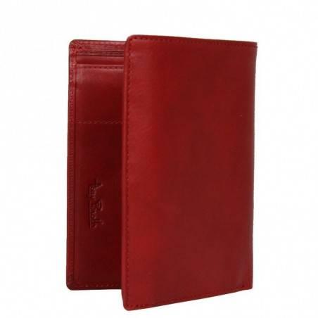 Petit portefeuille porte monnaie et porte cartes cuir vintage Tony Perotti Tony PEROTTI - 4
