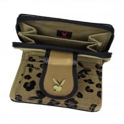 Porte monnaie motif léopard Playboy PA2527 PLAYBOY - 2