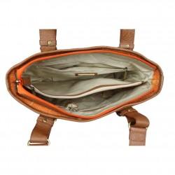 Sac porté épaule petit cabas toile Patrick Blanc 8021-05 PATRICK BLANC - 3