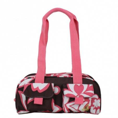 Petit sac baguette demi-rond motif fleurs Roxy As You Like It ROXY - 1