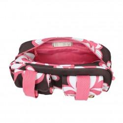 Petit sac baguette demi-rond motif fleurs Roxy As You Like It ROXY - 4