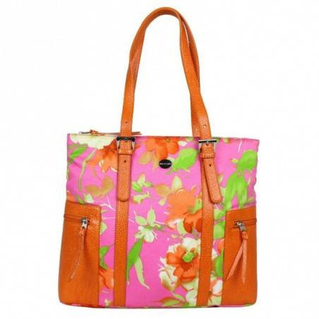 Sac shopping Mac Douglas motif floral Lithium Zipa MAC DOUGLAS - 1