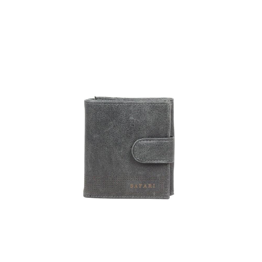 Porte monnaie + porte cartes billets cuir vieilli Safari Lounge SAFARI - 1