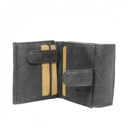 Porte monnaie + porte cartes billets cuir vieilli Safari Lounge SAFARI - 2