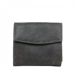Porte monnaie + porte cartes billets cuir vieilli Safari Lounge SAFARI - 5