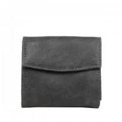 Porte monnaie porte cartes billets cuir vieilli Safari SFL3574 SAFARI - 5