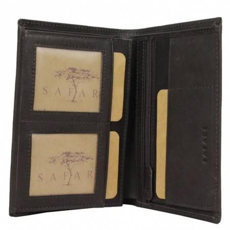 Grand portefeuille en cuir gras Safari Vintage SAFARI - 2