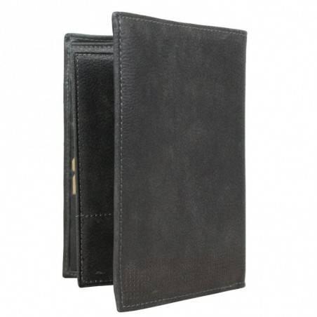 Grand portefeuille en cuir vieilli Safari SFL062 SAFARI - 3