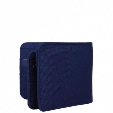 Petit portefeuille monnaie toile Pepe Jeans bleu 1268201 Pepe Jeans - 2