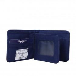 Petit portefeuille monnaie toile Pepe Jeans bleu 1268201 Pepe Jeans - 3