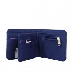 Petit portefeuille monnaie toile Pepe Jeans bleu 1268201 Pepe Jeans - 4