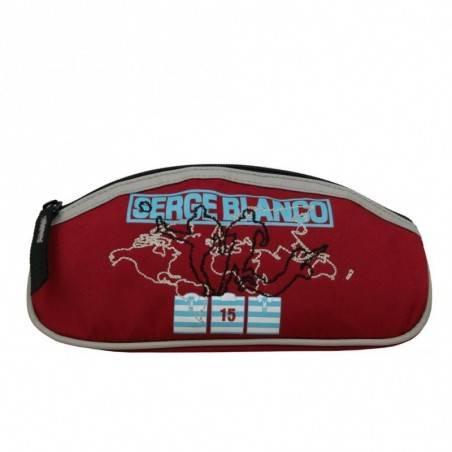 Trousse Serge Blanco toile PC013PRJ simple un compartiment