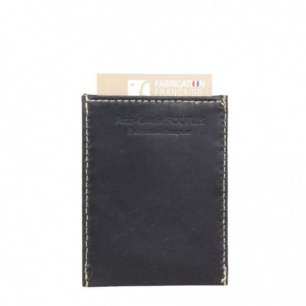 petit porte carte cuir ultra plat jean louis four s s14 paul paula s curis anti rfid. Black Bedroom Furniture Sets. Home Design Ideas
