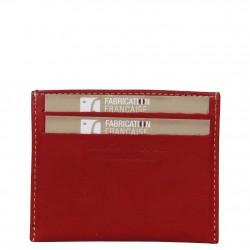 Porte cartes cuir plat Fourès Paula RFID Fabrication France FOURÈS - 3