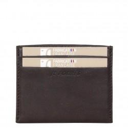 Petit porte cartes cuir Fourès X15 RFID Fabrication France FOURÈS - 1