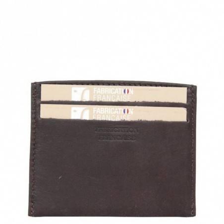 Petit porte cartes cuir Fourès X15 RFID Fabrication France FOURÈS - 3