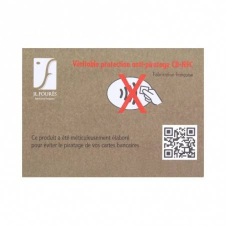Porte cartes cuir Fourès Baroudeur RFID Fabrication France FOURÈS - 8