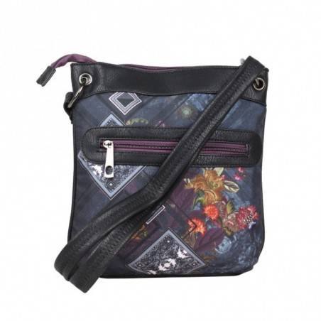 Sac bandoulière plat motif rivets SMASH Livvuy Bag SMASH - 2