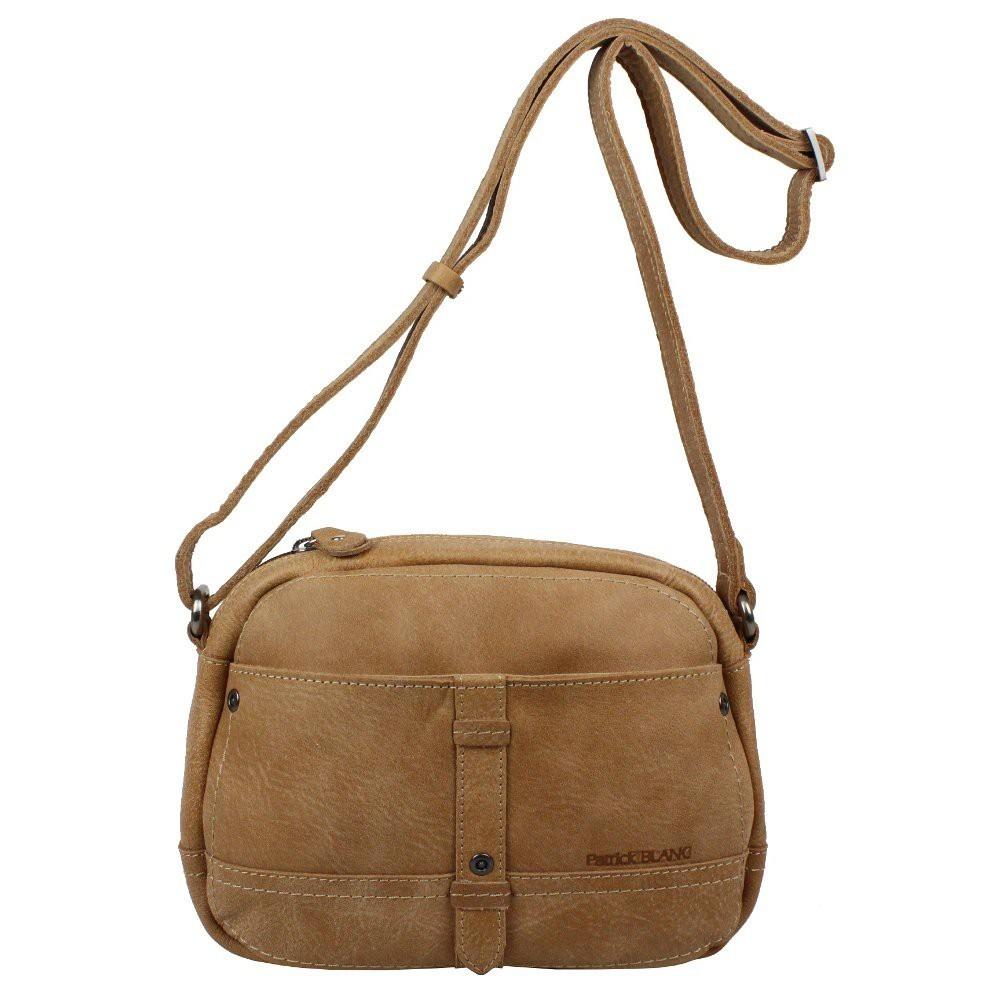 Petit sac bandoulière reporter cuir Patrick Blanc Tribe PATRICK BLANC - 1