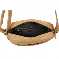 Petit sac bandoulière reporter cuir Patrick Blanc Tribe PATRICK BLANC - 3