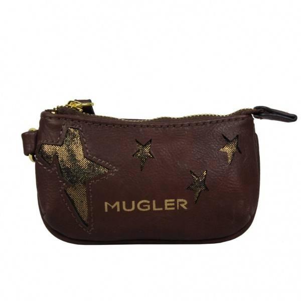 Petit porte monnaie bourse demi rond thierry mugler etoile pm3 - Porte monnaie thierry mugler ...