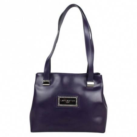 Un sac de femme en jolie cuir de vachette de chez Lancaster signée made in france en taupe 4773 LANCASTER - 1