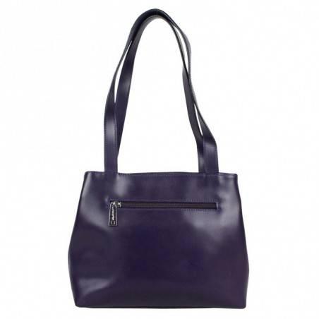 Un sac de femme en jolie cuir de vachette de chez Lancaster signée made in france en taupe 4773 LANCASTER - 4