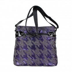 Sac bandoulière Patrick Blanc 508024 motif violet PATRICK BLANC - 4
