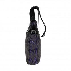 Sac bandoulière Patrick Blanc 508024 motif violet PATRICK BLANC - 2