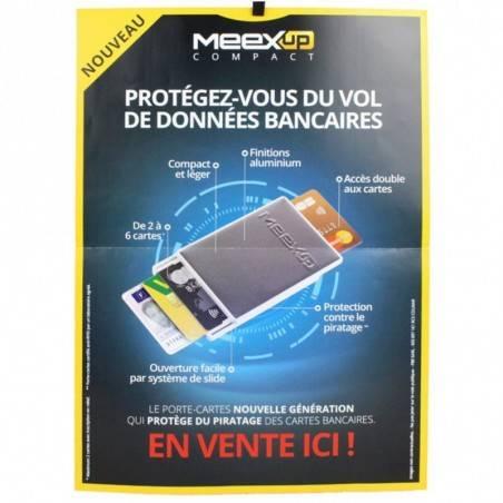 Porte cartes 2 rigide sécurité MeexUp Fabrication France MeexUp  - 4