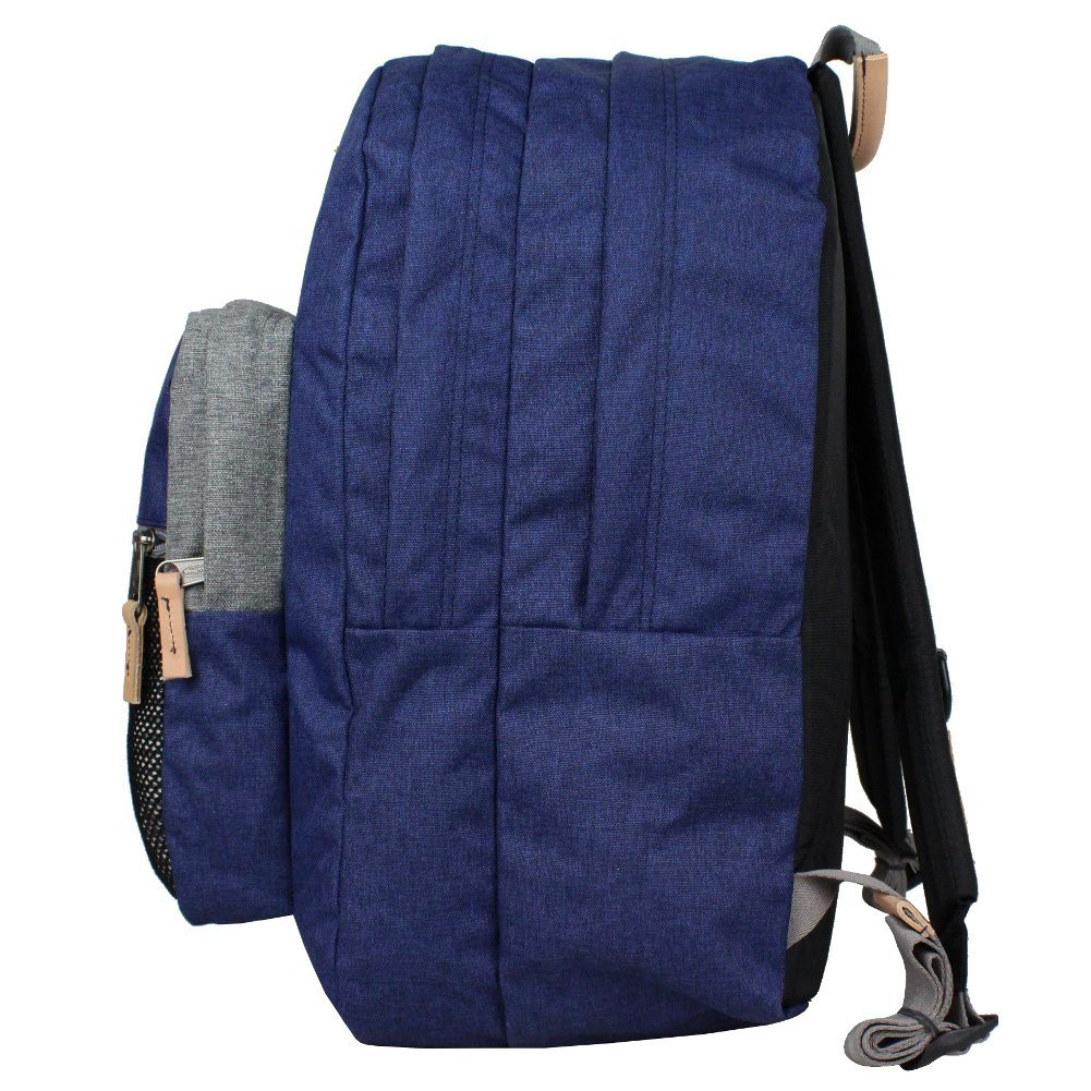 Pinnacle Dos Ek060 Sac Bleu 47n Block Toile Eastpak Out À Cuir qpYCCx5wt