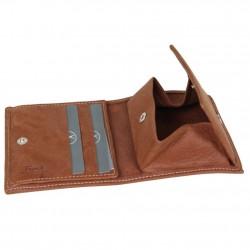 Porte monnaie et billets fabrication en France cuir 9613.3 FRANDI - 3