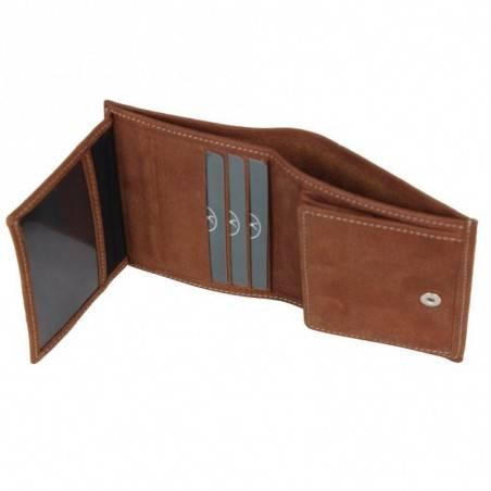 Porte monnaie et billets fabrication en France cuir 9613.3 FRANDI - 4