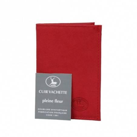 Petit porte cartes cuir fabrication France 9611.6 FRANDI - 1