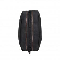 Porte monnaie cuir grain fabrication France 9680.6 2 poches FRANDI - 2