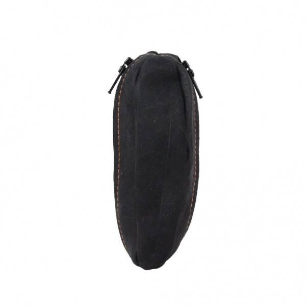 Petit porte monnaie forme grain de caf fabrication france en cuir 9680 6 nouvelty 2 poches - Porte monnaie grain de cafe ...