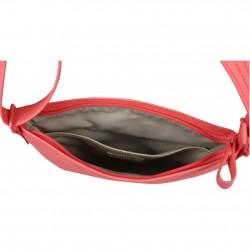Pochette bandoulière ultra plate Lacoste NF1257WM Black Flat Crossover Bag LACOSTE - 3