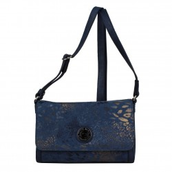 Petit sac bandoulière Patrick Blanc imprimé doré 509062  PATRICK BLANC - 1