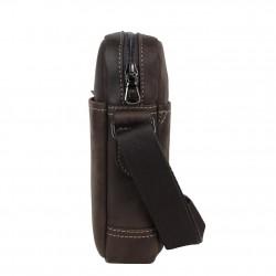 Pochette en cuir brute Serge Blanco CTP13009 1 compartiment  SERGE BLANCO - 3