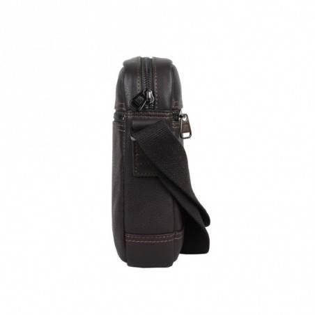 Pochette homme femme de marque adidas w68189 ac mini bag noir SERGE BLANCO - 3