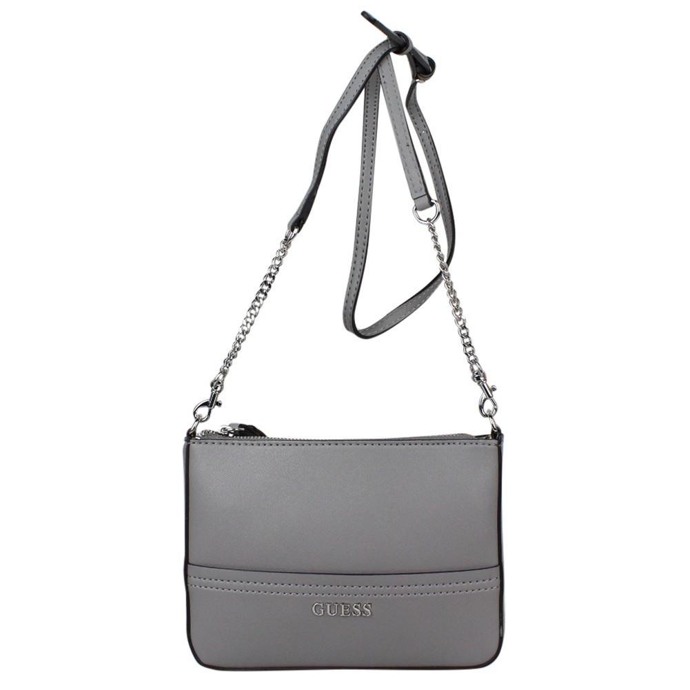 Petit sac bandoulière effet saffiano Guess Delaney Mini EY453572  GUESS - 1