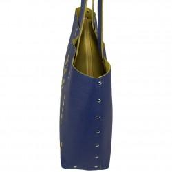 Sac cuir Texier motif ethnique 21004i fabrication France TEXIER - 2